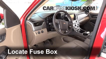 2014 Chevy Sonic Stereo Wiring Diagram 2014 2019 Chevrolet Tahoe Interior Fuse Check 2015