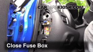 Interior Fuse Box Location: 20142019 Nissan Versa Note