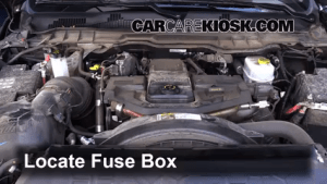Interior Fuse Box Location: 20112017 Ram 2500  2015 Ram