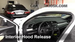 Transmission Fluid Level Check Honda Civic (20162017)  2016 Honda Civic LX 20L 4 Cyl Sedan