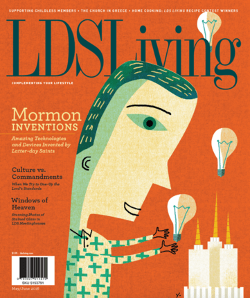 lds living magazine - HD871×1040