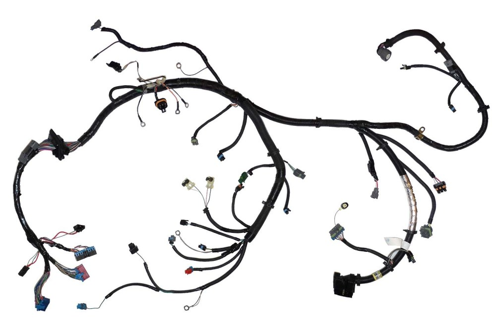 medium resolution of 12150130 oem tbi engine wiring harness 92 96 5 0l 5 7l 305 350 gm truck