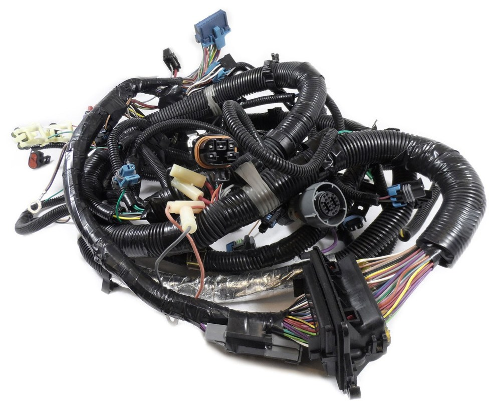 medium resolution of 12167747 oem tbi engine wire harness for 5 0l 305 5 7l 350 gm engines