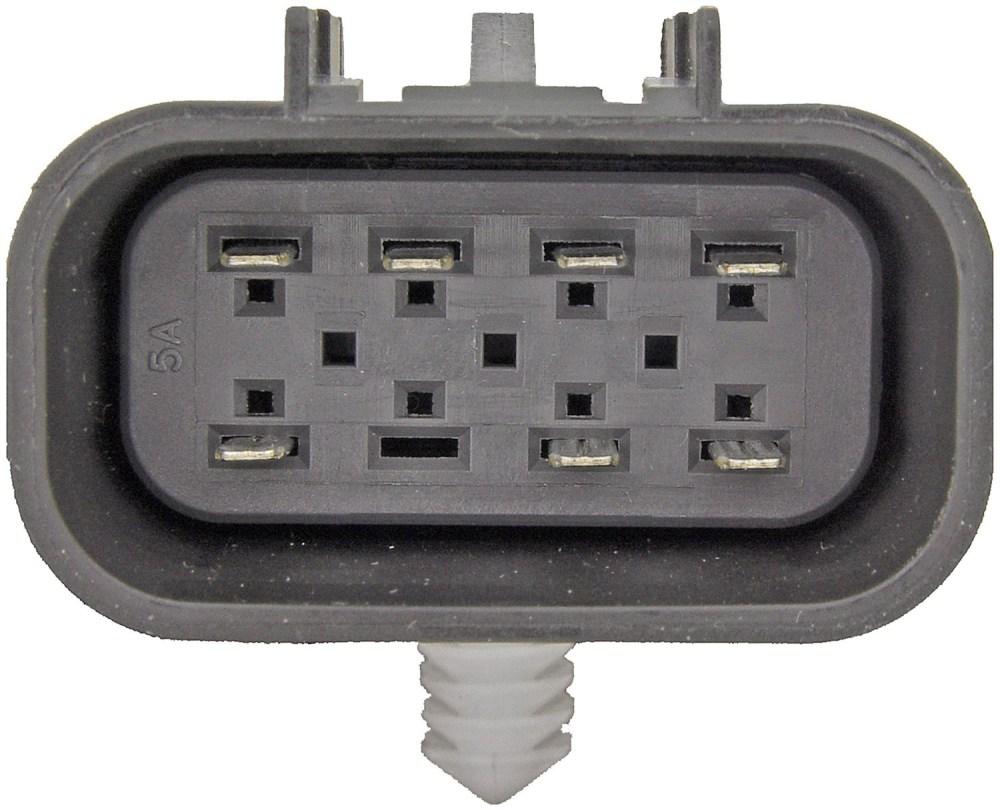 medium resolution of transfer case motor rectangular plug w 7 pins dorman 600 908