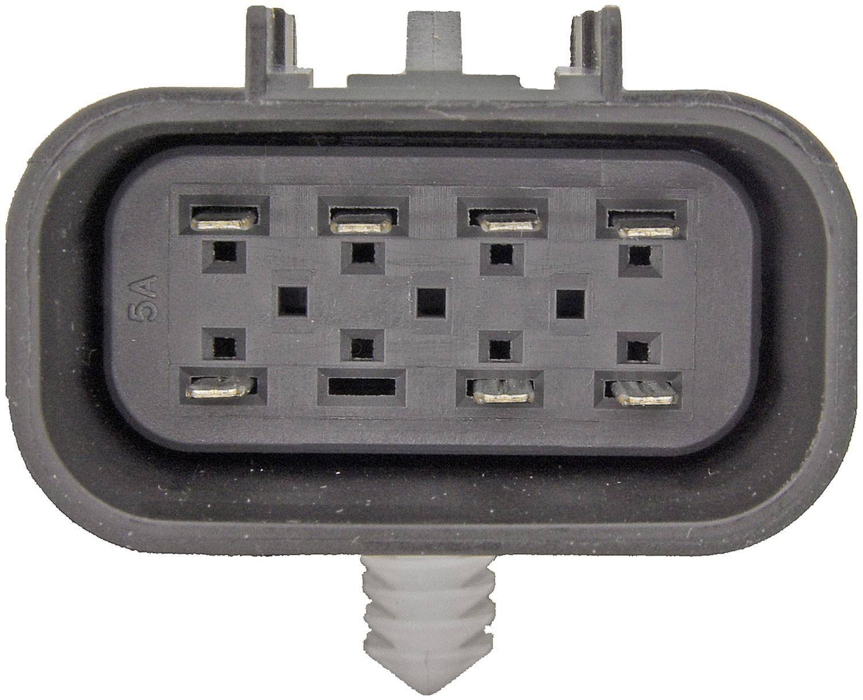 hight resolution of transfer case motor rectangular plug w 7 pins dorman 600 908