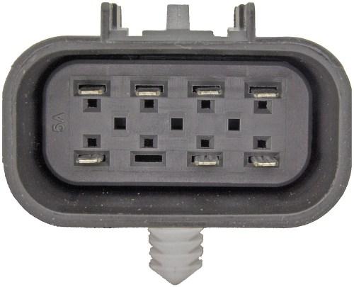 small resolution of transfer case motor rectangular plug w 7 pins dorman 600 908