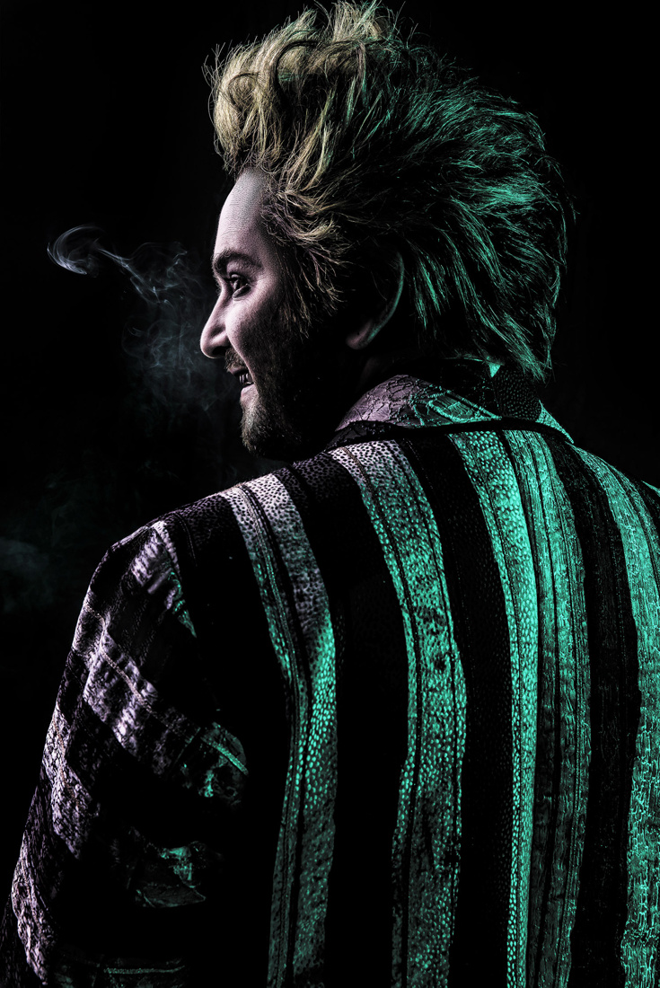 Get a First Look at Alex Brightman in Beetlejuice Tickets Now on Sale  Broadway Buzz