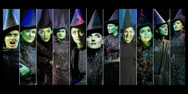Weekend Poll Which Witch? Celebrate Wicked's Birthday By