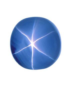 "563 carat ""Star of India"" grayish blue Sapphire"