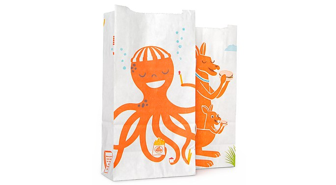 Whataburger Kids Meal Bags  McGarrah Jessee