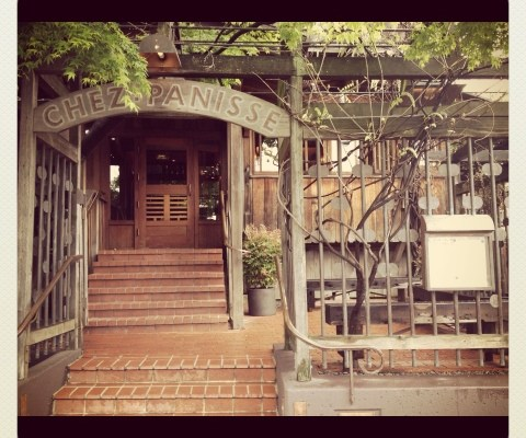 Lunch at Chez Panisse, the food was simple, unpretentious, and well executed, oh, and did I mention delicious.