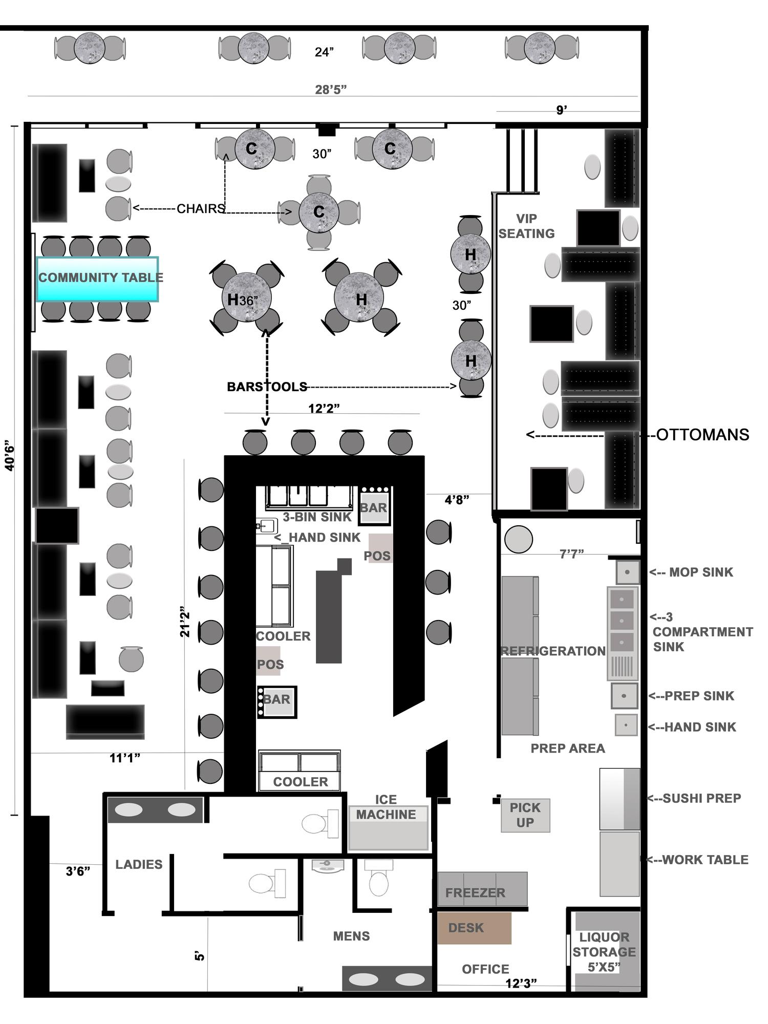Building Sign Diagram