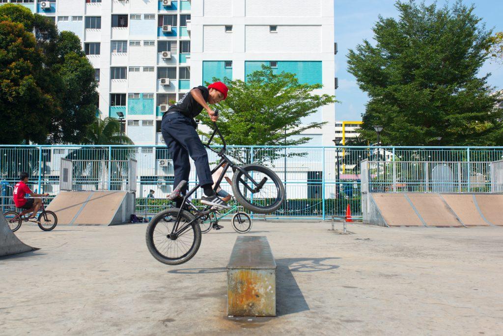 Team SKRT biker by This Is Yishun
