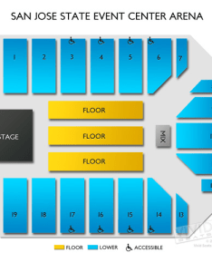 San jose state event center arena seating chart vivid seats sjsu events hours also naturalrugsore  rh