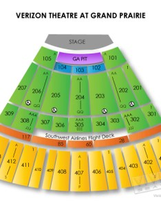 Verizon theater grand prairie seating chart third day tickets vivid seats also insaatpgroup rh
