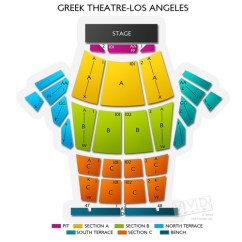 Theater Greek Diagram 2000 Dodge Neon Engine Theatre Los Angeles: Seating Chart For Socal's Top Outdoor Concerts | Vivid Seats