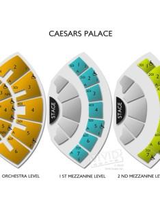 Caesars palace seating chart also  guide for the premier las vegas venue rh vividseats