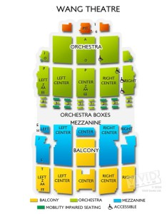 Wang theatre seating chart also  guide for the boston landmark vivid seats rh vividseats