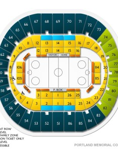 Portland memorial coliseum or seating chart  stage theater also rh
