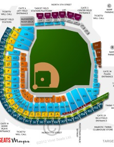 Target field seating chart also concerts views and event schedule vivid seats rh vividseats