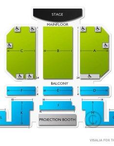 also fox theatre visalia ca seating chart  stage fresno theater rh