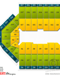 Erie insurance arena information  seating also rh box officespot