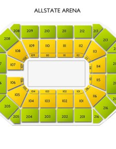 Allstate arena seating chart also concerts guide for live music in rosemont rh vividseats