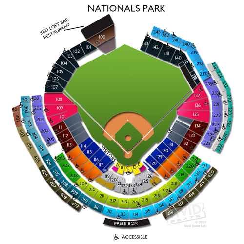 Nationals Park Seating Chart Interactive Brokeasshome Com