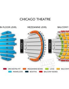 Chicago theatre seating chart also guide and events schedule vivid seats rh vividseats