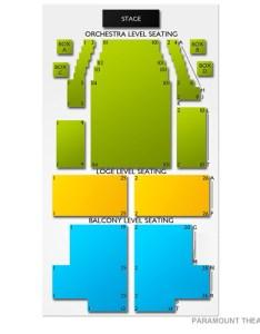 Paramount Huntington Seating Chart