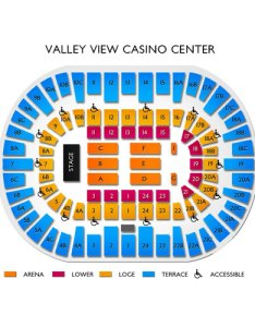 Valley view casino center san diego ca seating chart  stage theater also rh