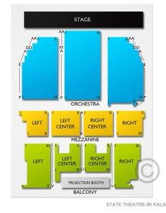 also state theatre kalamazoo mi seating chart  stage theater rh kalamazootheater