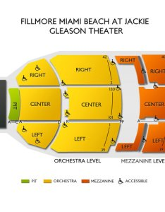Fillmore miami beach fl seating chart  stage theater also rh