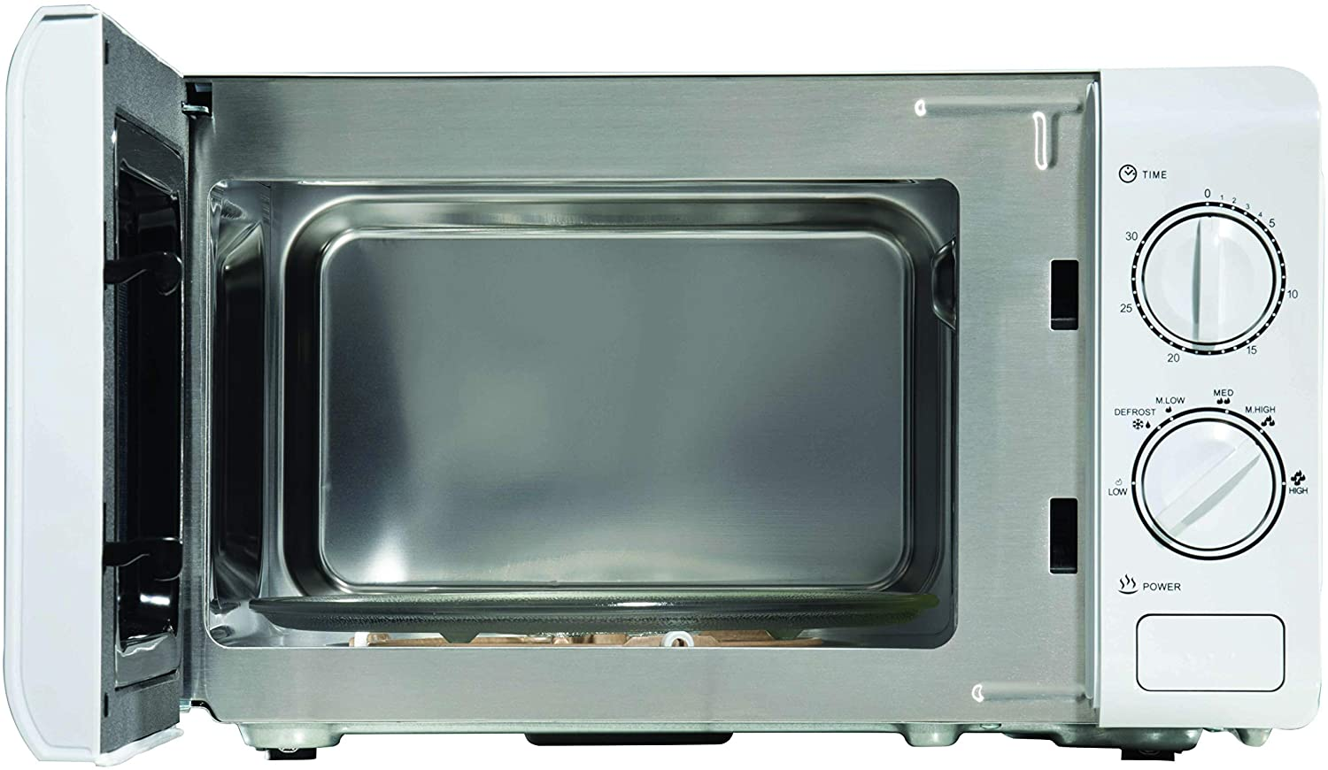 daewoo sda2075 20l microwave with stainless steel interior
