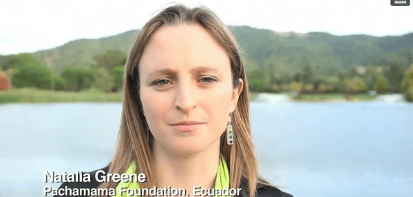 Natalia Greene of the Pachamama Foundation for We the People 2.0