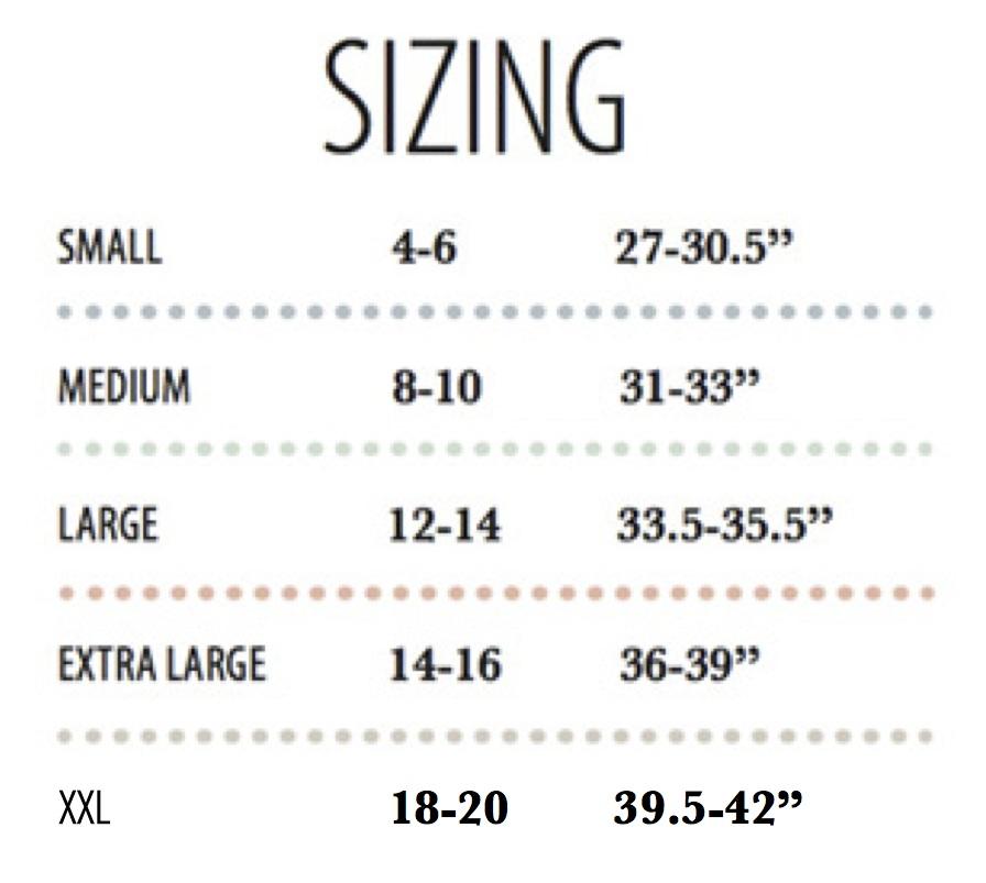 New size chart also knix wear high tech multi tasking underwear indiegogo rh