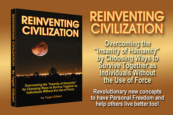 Reinventing Civilization by Overcoming the Insanity of Humanity
