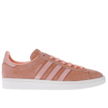 Adidas Orange Campus Womens Trainers