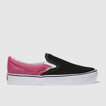 Mens Pink Slip On Shoes