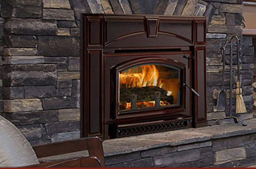 Fireplace Fashions  Rochester NY  Wood Gas  Electrical Fireplace Stove and Inserts