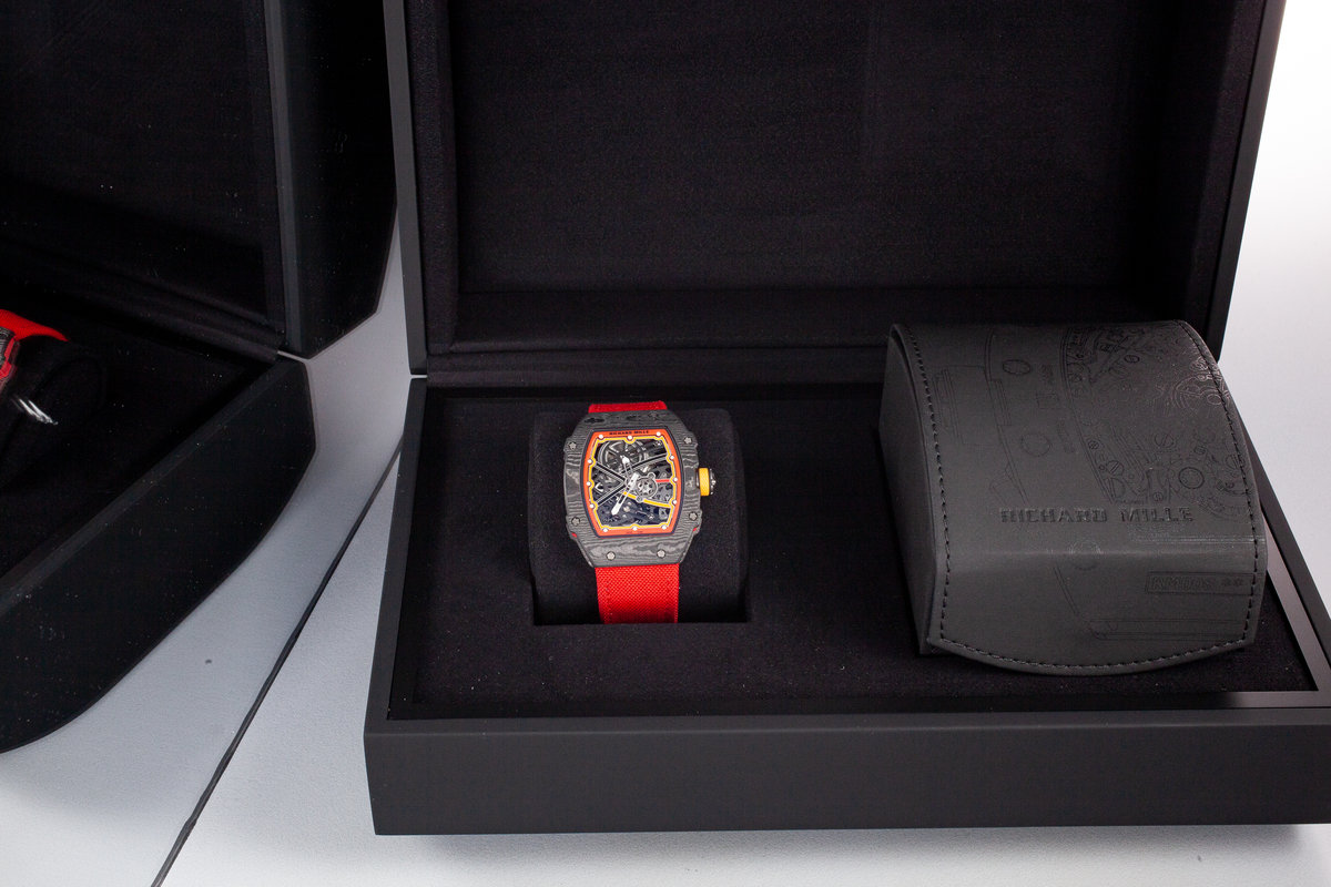 02 Box Hq Milton - Richard Mille Rm 67-02 Alexander Zverev With Box And Papers, Inventory #a3058