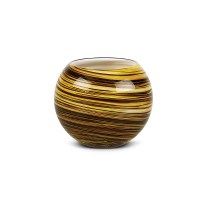 Galaxy Candle Votive Candle Holder  Brown | IMPULSE!