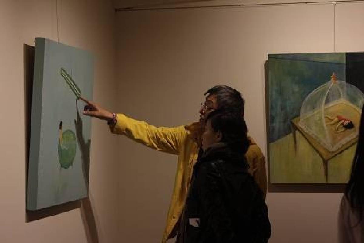 黎畫廊:【美麗國度.忘憂樂園】崔永嬿的個展 - 非池中藝術網