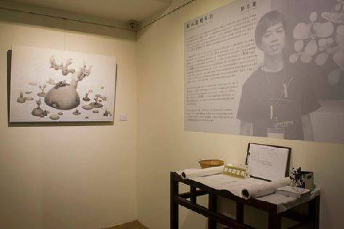 黎畫廊:【純在這裡】駱志豪-水墨個展 - 非池中藝術網