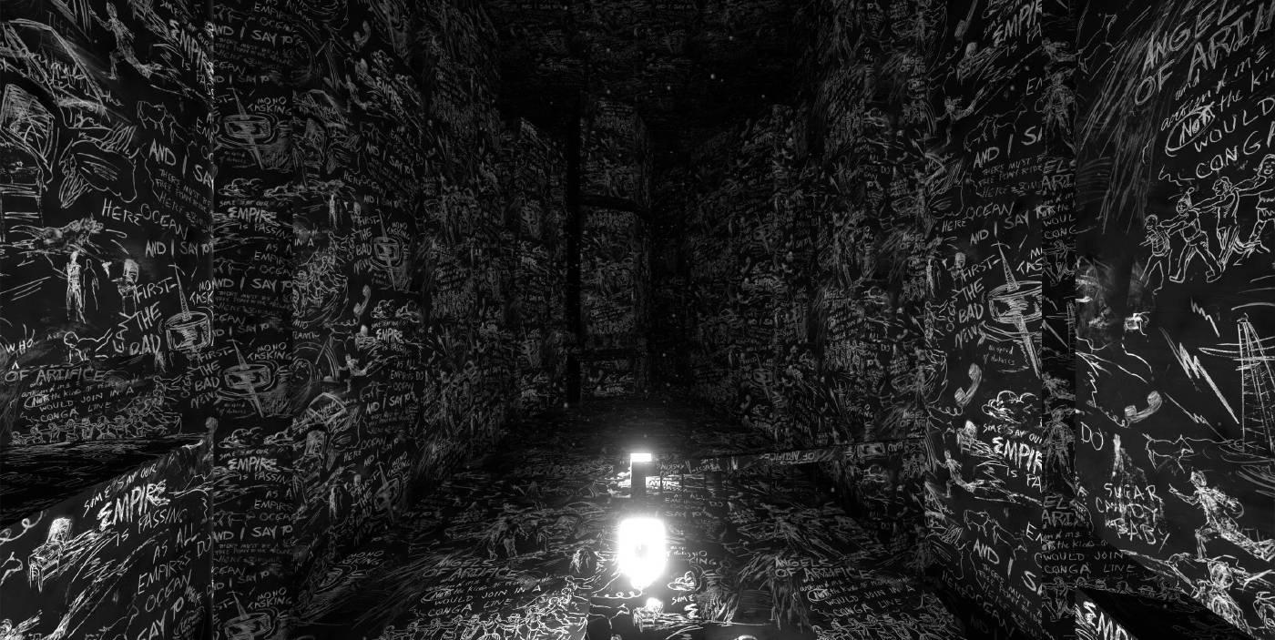 臺北市立美術館:【黃心健&Laurie Anderson跨國合作VR作品《沙中房間》】 - 非池中藝術網