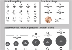 Jumpring chart choosing the right jump ring also beaducation jewelry making tools supplies and free classes rh