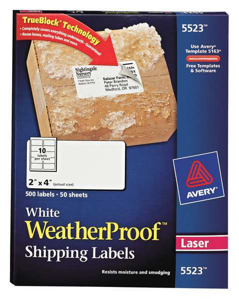 avery 5523 labels