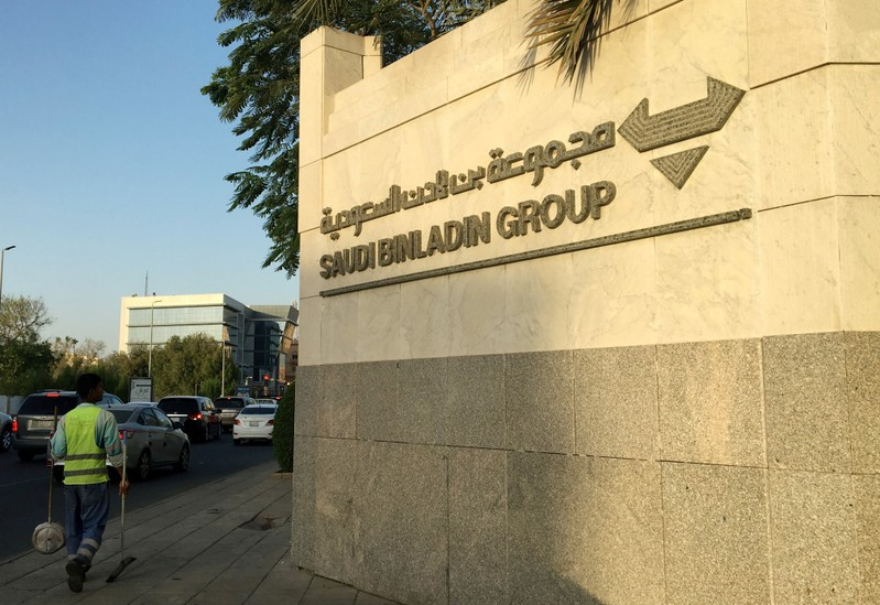FILE PHOTO: The headquarters of the Saudi Binladin Group is seen in Jeddah
