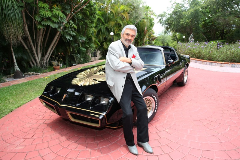 1979 Pontiac Trans Am which was the last Trans Am owned and driven by Burt Reynolds