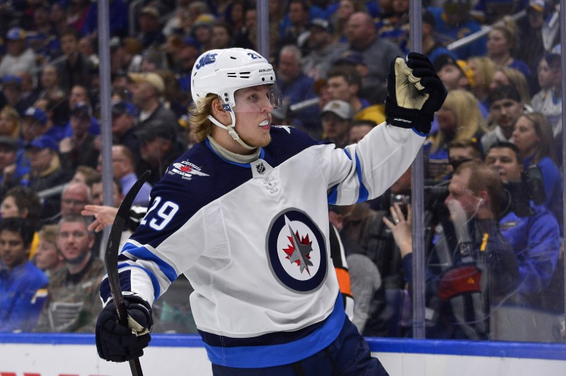 NHL: Stanley Cup Playoffs-Winnipeg Jets at St. Louis Blues